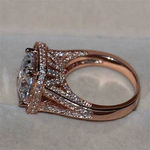 15 Ideas Of Cheap Rose Gold Wedding Bands