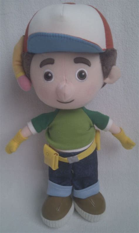 adorable big handy manny plush toy
