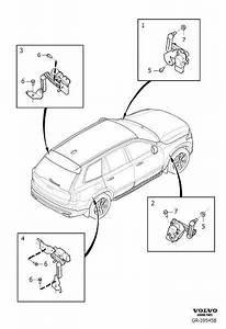 Volvo Xc90 Headlight Level Sensor  Cmp Sensor
