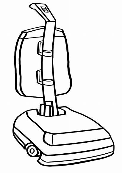 Vacuum Coloring Cleaner Pages