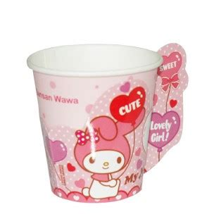 This fun class with artisan. My Melody Birthday Paper Cup - Sansan Wawa Indonesia