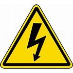 Hazard Safety Symbols Voltage Electrocution Label Shock