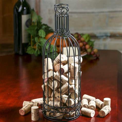 wine bottle cork holder wall decor wire wine bottle cork holder decorative containers