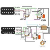 Guitar Wiring Diagrams Humbucker Volume Tone