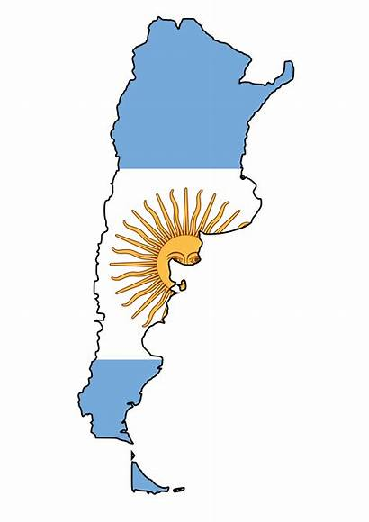 Argentina Money Market Usd Pesos Flag Map