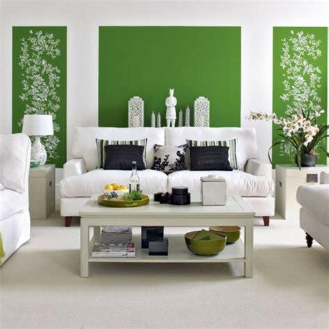 Wandgestaltung Wohnzimmer Grün by 100 Ideen F 252 R Wandgestaltung In Gr 252 N Archzine Net