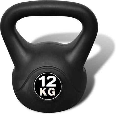 kettlebell kg zwart vida xl bol pesa rusa 12kg afbeelding asupermall