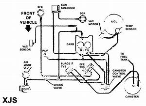 Need Pictured Vacuum Diagram For 1983 Oldsmobile 307  5 0