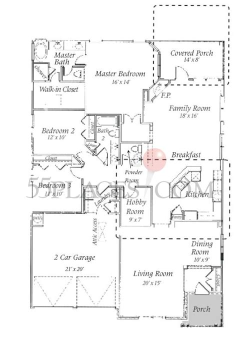monticello floorplan 2232 sq ft the retreat at greenbrier 55places com