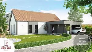Maison Architecte Plain Pied : maison contemporaine atrium architecte ~ Melissatoandfro.com Idées de Décoration