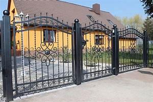 Gartenzaun Aus Metall : gartenzaun aus metall oder aus holz ~ Orissabook.com Haus und Dekorationen