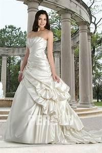 robe bustier de mariage en satin a coupe trompette persunfr With robe trompette mariage