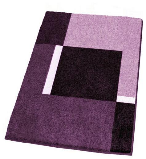 modern  slip washable purple bath rugs extra large