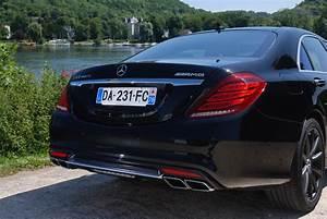 Mercedes Benz Classe S Berline : essai mercedes classe s 63 amg motorlegend ~ Maxctalentgroup.com Avis de Voitures