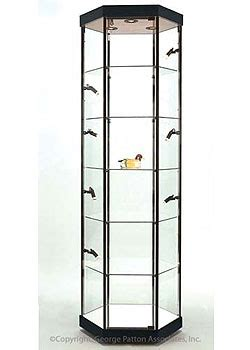 where to put glass cabinets in a kitchen these display cabinets are chic black towers these 2258