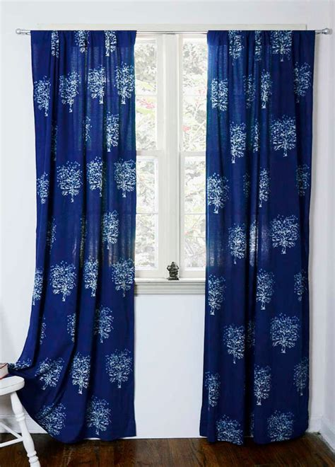 blue sheer curtains 96 indigo blue curtain window curtains bedroom curtains bohemian