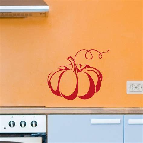 stickers pour la cuisine stickers muraux pour la cuisine sticker citrouille