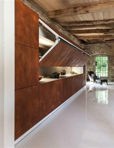 portes placard cuisine les portes de placard pliantes pour un rangement joli et