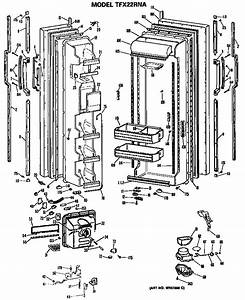 Ge Refrigerators  Parts