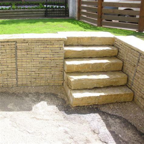 escalier en naturelle bloc marche escalier exterieur inspiration du