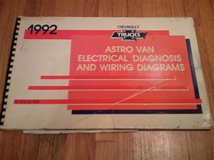 1992 Chevrolet Astro Van Electrical Wiring Diagrams