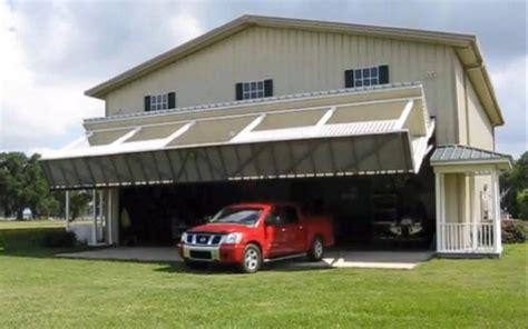 Garage Hangar by Innovative Hangar Home Conceals Garage Mahal