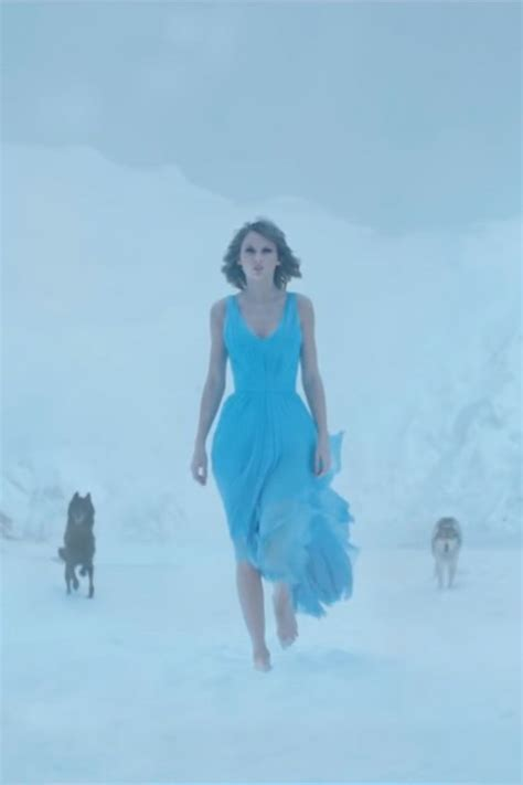 taylor swift blue high  homecoming dress film clip