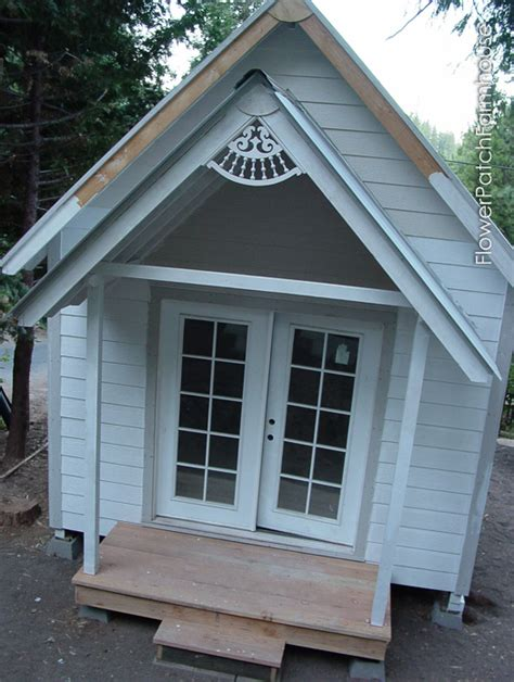 my sheds much building my she shed flower patch farmhouse