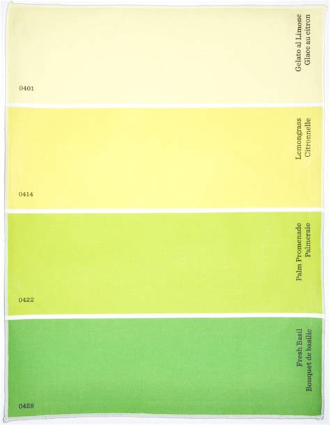 w color names in these paint chip place