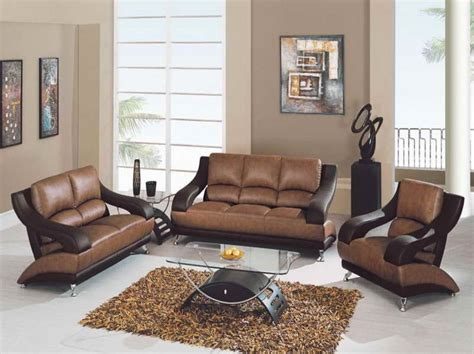 paint colors for living room walls with brown leather sofa