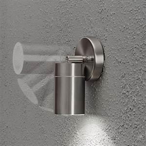 Außenleuchte Edelstahl Led : led wandleuchte spot au enleuchte 1 flammig edelstahl ~ Watch28wear.com Haus und Dekorationen