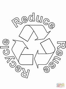 recycling free colouring pages With how to recycle