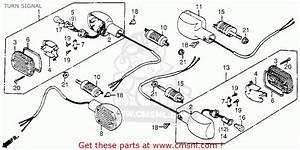 Honda Cb650sc 1984 Nighthawk 650 Usa Turn Signal