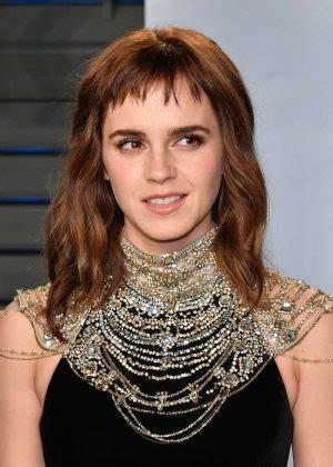 Emma Watson Vanity Fair Oscar Party Hollywood
