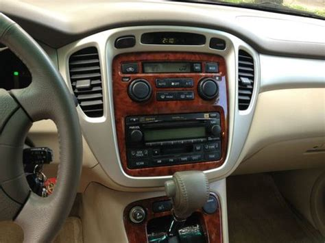 automobile air conditioning repair 2004 toyota highlander user handbook purchase used 2005 toyota highlander limited sport utility 4 door 3 3l v6 with remote starter in