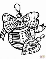 Coloring Ornaments Printable Xmas Jingle Decoration Colouring Sheets Supercoloring Bells Printables sketch template
