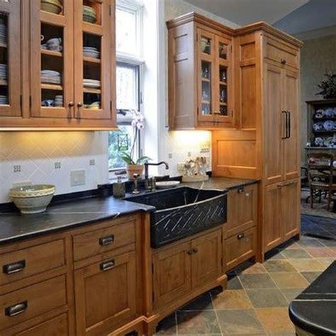 classic slate floor kitchen design  cincinnati