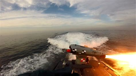 Rafael Completes Missile Firing from PROTECTOR USV - Mönch ...