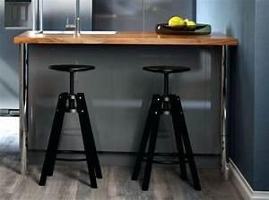 Bar De Cuisine Ikea : table bar de cuisine ikea id e de mod le de cuisine ~ Nature-et-papiers.com Idées de Décoration