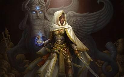 Middle Fantasy Eastern Warrior Queen Warriors Wallpapers