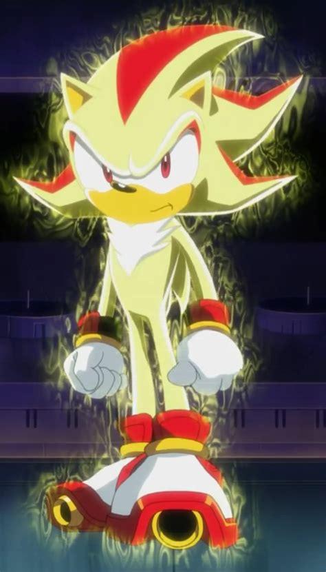 super shadow sonic  wiki sonic  hedgehog fandom