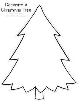 easy printable christmas crafts christmas tree