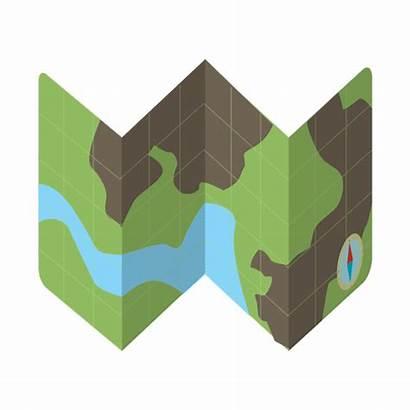 Mapa Icono Map Viaje Kit Iconos Clipart