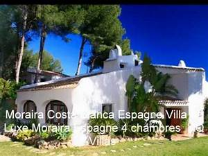 location villa espagne avec piscine moraira costa blanca With location maison avec piscine en espagne
