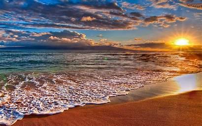 Desktop Beach Backgrounds Sunset