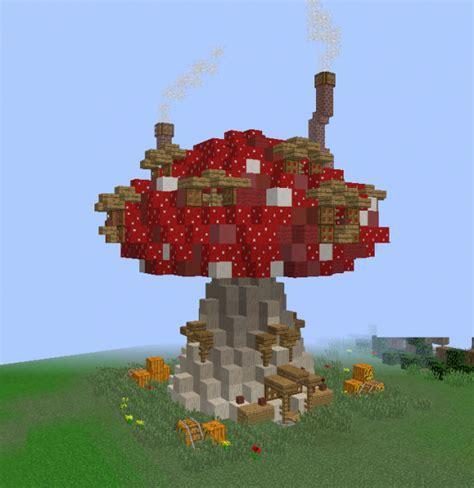 fantasy mushroom house grabcraft  number