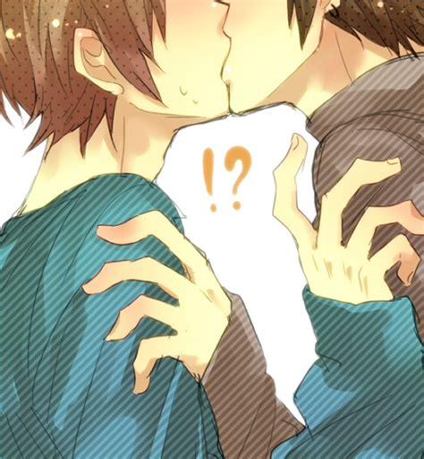 anime kiss mark mokuzu 930149 zerochan