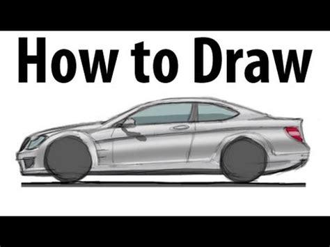 draw  mercedes benz  amg sketch  quick