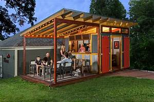 Party shed - Farmhouse - Shed - Milwaukee - by Edmunds