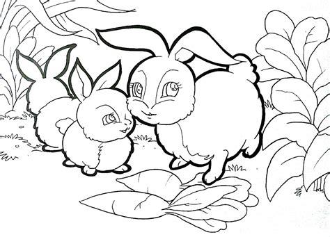 kumpulan sketsa gambar anak kelinci aliransket